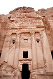 The Urn Tomb in Petra Royalty Free Stock Images