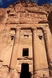 Urn Tomb in Petra Royalty Free Stock Photography
