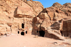 Urn Tomb in  Petra Royalty Free Stock Image