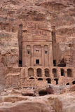 Urn Tomb, Petra, Jordan Stock Image