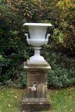 Urn. vase. garden ornament Royalty Free Stock Photography