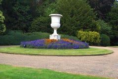 Urn. vase. garden ornament Stock Photos
