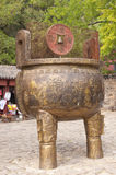 Urna buddista di preghiera Immagini Stock