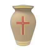 Urna de la cremación Fotografía de archivo libre de regalías