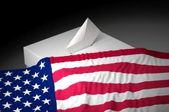 Urna de voto Imagem de Stock Royalty Free