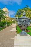 A urna decorativa preta Fotografia de Stock Royalty Free