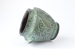 Urna do grego clássico Fotos de Stock