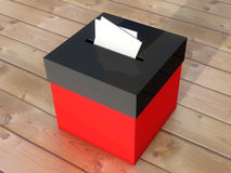 Urna a votar Fotos de archivo