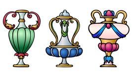 Urne decorative Fotografia Stock Libera da Diritti