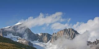 In the Urner Alps Stock Images