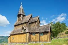 Urnes ударяет церковь стоковые изображения rf