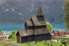 Free Urnes Stave Church Stock Image - 112909031