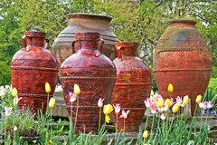 Urns Stock Photo