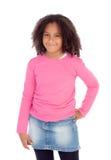 Urocza Afroamerican dziewczyna Zdjęcia Royalty Free