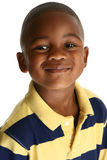 urocza afroamerykanin chłopcze Zdjęcie Stock