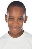 urocza afrykańskiego chłopcze Fotografia Stock