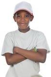 urocza afrykańskiego chłopcze Obrazy Stock