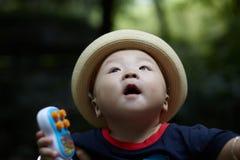 Urocza chłopiec Zdjęcie Royalty Free
