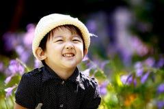 urocza chińska dziewczyna Obrazy Royalty Free
