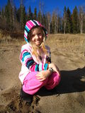 urocza dziewczyna Zdjęcie Royalty Free