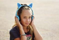 urocza dziewczyna nastoletnia fotografia stock
