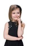 urocza dziewczyna trochę obraz royalty free