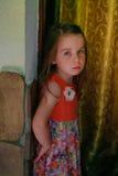 urocza dziewczyna trochę Zdjęcia Royalty Free