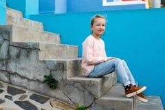 urocza dziewczyna trochę outdoors Fotografia Royalty Free