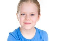 Urocza dziewczyna z uśmiechem Zdjęcia Royalty Free