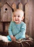 urocza dziewczynka portret Fotografia Stock