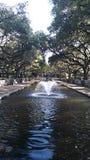 Urocza fontanny scena obrazy royalty free
