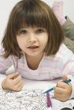Urocza mała dziewczynka Fotografia Royalty Free
