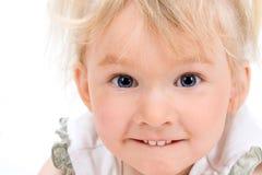 Urocza mała dziewczynka Fotografia Stock