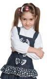 Urocza mody młoda dziewczyna zdjęcia stock