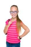 Urocza mody młoda dziewczyna zdjęcie stock