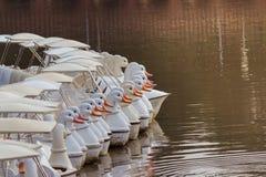 Urocza Pedałowa łódź fotografia royalty free