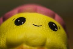 Urocza squishy antistress zabawka zamkni?ta w g?r? zdjęcia stock