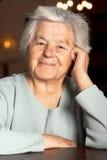 urocza starsza kobieta obraz royalty free