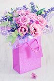 Urocza wiązka kwiaty Obrazy Stock