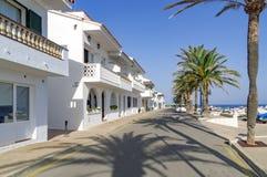 Urocza wioska S'algar w Hiszpania Zdjęcia Stock
