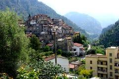Urocza wioska w Włochy. Zdjęcia Stock