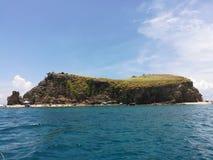 Urocza wyspa Zdjęcia Royalty Free