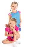 Urocze małe dziewczynki Obraz Royalty Free