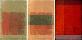 urocze tło tekstury trzy Zdjęcia Royalty Free