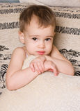 uroczego dziecka jaskrawy portret Fotografia Royalty Free