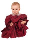 uroczego dziecka stary jeden rok Fotografia Royalty Free