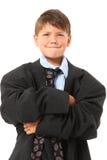 uroczej chłopiec dużych rozmiarów kostium Zdjęcia Stock