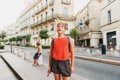 uroczej dziewczyny mały portret Fotografia Royalty Free