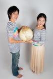 Uroczy Azjatycki Tajlandzki współmałżonek Zdjęcie Stock