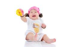 Uroczy azjatykci dziecko Zdjęcia Royalty Free